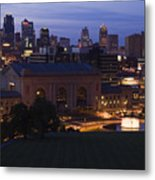 Union Station Kansas City Metal Print