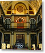Union Station Lobby Metal Print