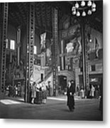 Union Station Train Concourse Metal Print