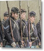 Union Veteran Soldiers Parade  Metal Print