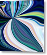 United Fronts Of A Rainbow Metal Print