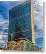 United Nations Headquarters Metal Print