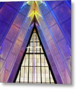 United States Air Force Academy Cadet Chapel 3 Metal Print