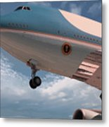 United States Air Force One Metal Print