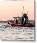 United States Coast Guard Heading Out Metal Print