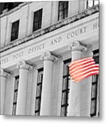 United States Flag Metal Print