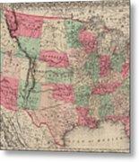 United States Of America Metal Print