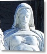 United States Supreme Court, The Contemplation Of Justice Statue, Washington, Dc 4 Metal Print