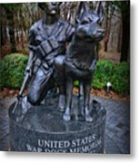 United States War Dog Memorial Metal Print