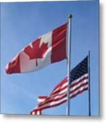 United We Stand Divided We Fall Metal Print