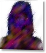 Universe Body Metal Print