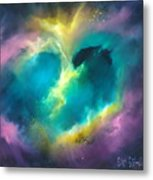 Universe Of The Heart Metal Print