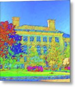 University Of Massachusetts Metal Print