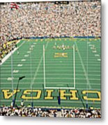 University Of Michigan Stadium, Ann Metal Print