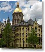 University Of Notre Dame Main Building 1879 Metal Print