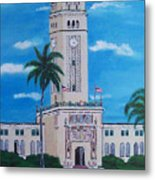 University Of Puerto Rico Tower Metal Print