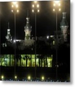 University Of Tampa Lights Metal Print