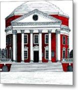 University Of Virginia Metal Print