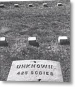 Unknown Bodies Metal Print