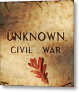 Unknown Civil War Metal Print