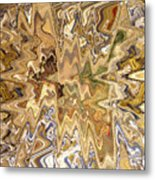 Unknown Paths Abstract Art Metal Print