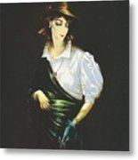 Unknown Woman Metal Print