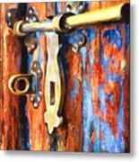 Unlocked Metal Print by Denise H Cooperman