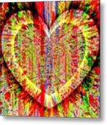 Unsettled Heart Metal Print by Fania Simon