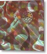 Unsolved Structure Metal Print