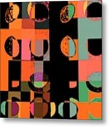 Untiled Number 75b Metal Print by Teodoro De La Santa