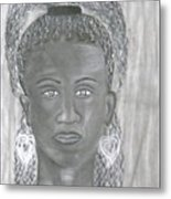 Untimely Beauty Metal Print