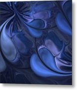 Untitled 01-26-10 Blues Metal Print