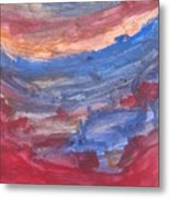 Untitled 104 Original Painting Metal Print