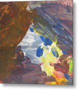 Untitled 139 Original Painting Metal Print