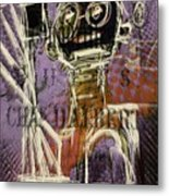 Untitled Abstract 31march2016 Metal Print