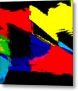 Untitled Abstract 41 Metal Print