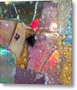 Untitled Abstract Prism Plates II Metal Print