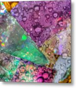 Untitled Abstract Prism Plates V Metal Print