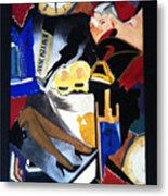 Untitled-collage Painting Metal Print