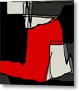 Untitled Shades Of Stown Metal Print