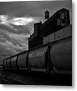 Untitled Train Metal Print