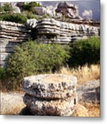 Unusual Rock Formations In The El Torcal Mountains Near Antequera Spain Metal Print