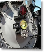 Up 844 Bell And Headlights Metal Print