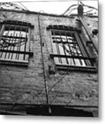 Up And Barred Metal Print