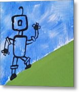 Up Hill Climb Metal Print