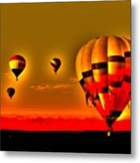 Up In The Air Metal Print