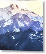 Up In The Mountains II Metal Print