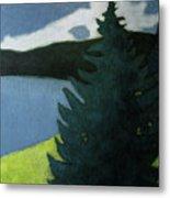 Up- north Landscape Metal Print