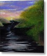 Up River Metal Print