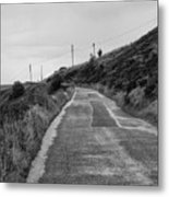 Up That Hill Metal Print